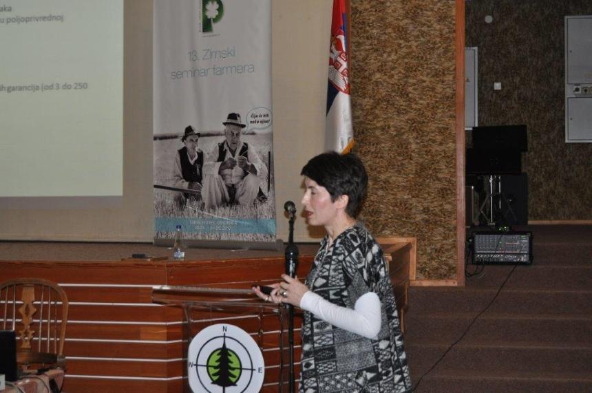 Гаранцијски фонд АП Војводине на 13. Зимском семинару фармера на Тари