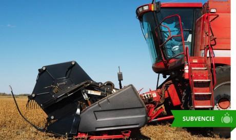 Súbeh na povolenie záruk na zabezpečenie dlhodobých úverov na obstaranie novej poľnohospodárskej mechanizácie a vybavenia